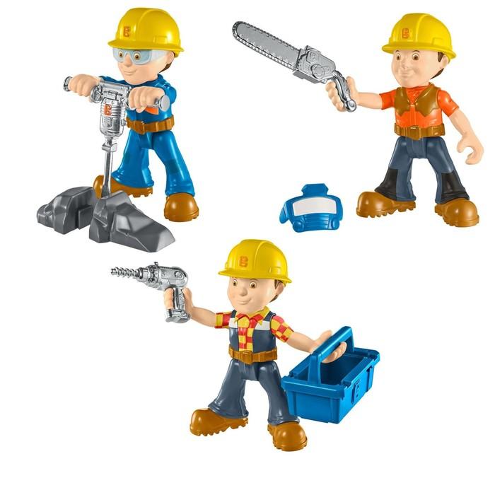 Литая мини-фигурка «Боб-строитель» с аксессуарами, МИКС