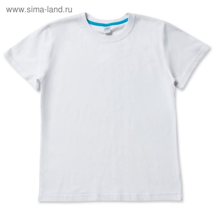 Футболка для девочки, цвет белый, рост 98-104 см (28)