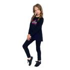 Джемпер для девочки, рост 128 см, цвет черный AW17-JUZ-078