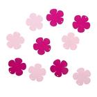 """Подвеска деревянная для декора """"Цветок"""" розовый/малиновый, d=4 см"""