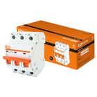 Выключатель автоматический TDM ВА47-29, 3Р, 20 А, 4.5 кА, характеристика С, SQ0206-0110