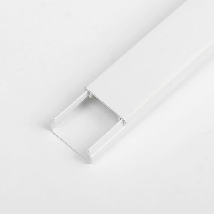 Кабель-канал TDM, 2 м, 20х10 мм, белый