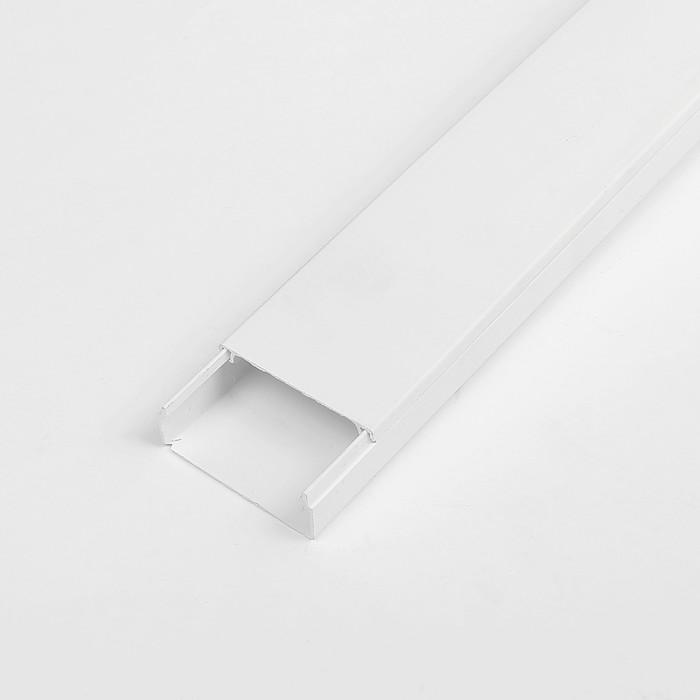 Кабель-канал TDM 40х16 мм, белый, 2 метра