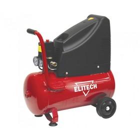 Компрессор Elitech КПБ 190/24, безмасляный, 1.5 кВт, 24 л,  188 л/мин, 8 бар, 24 кг