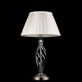 Настольная лампа Grace 1x40W E14 бронза 32x32x56см