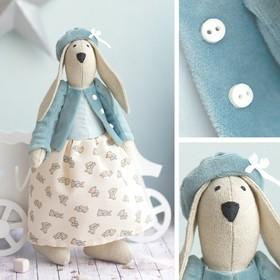 Мягкая игрушка «Домашняя зайка Фанни», набор для шитья, 18 × 22 × 3,6 см