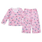 Пижама детская, рост 80 см, цвет микс 897_М