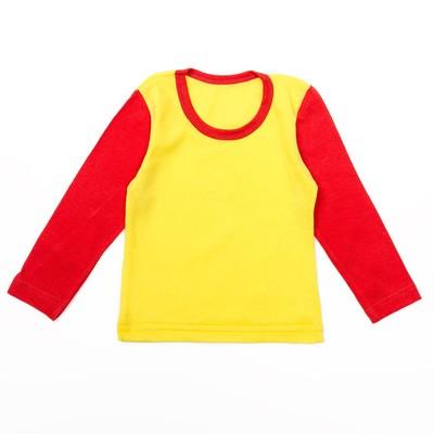 Футболка детская, рост 80 см, цвет микс 880_М