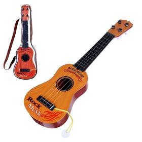 Детский музыкальный инструмент «Гитара: Классика», цвета МИКС