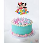 """Топпер в торт """"С Днем Рождения"""" Микки Маус и его друзья"""