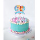 """Топпер в торт """"С Днем Рождения"""" Холодное сердце"""