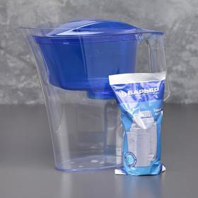 "Фильтр-кувшин 2,5 л ""Барьер-Нова"", цвет синий"