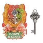 """Ключ """"К удаче"""" , 8.5 х 5,5 см"""