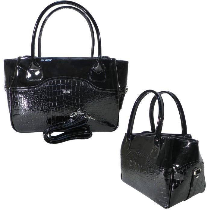 80633281fba6 Сумка женская, натуральная кожа, цвет чёрный в Бишкеке купить цена