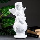 Фигура «Ангел со скрипкой улыбчивый» белый 26×21×46,5 см - фото 1004592
