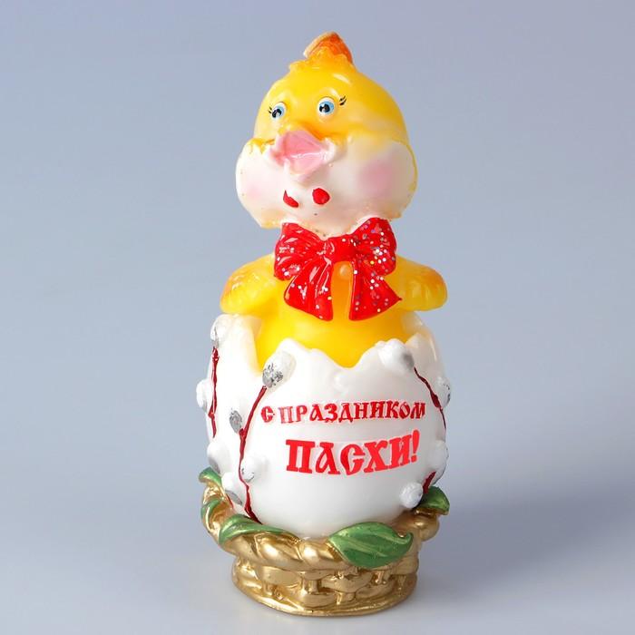 Декоративная свеча «Пасхальный цыпленок» - фото 5389