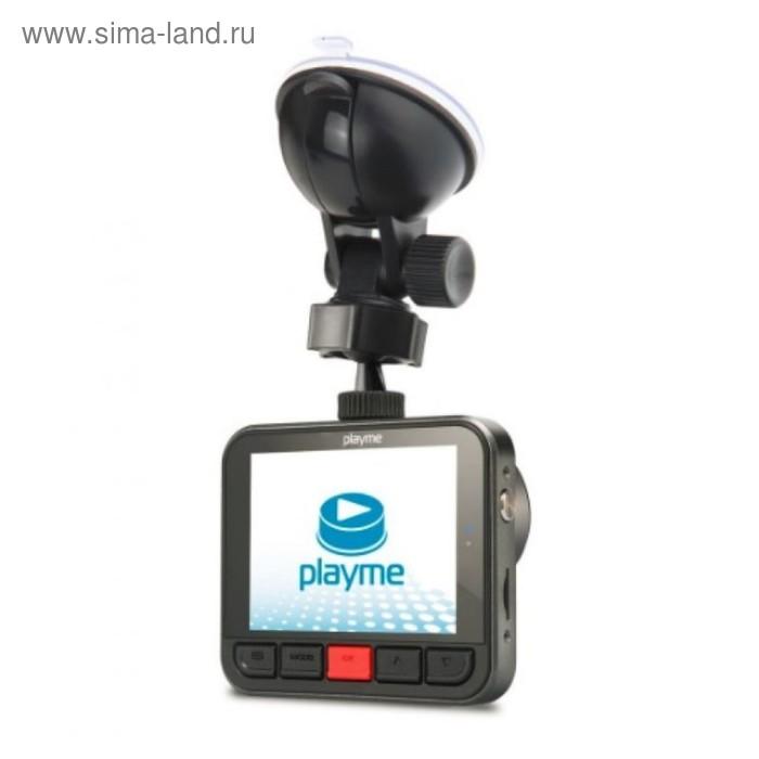 "Видеорегистратор Playme Midi, 2.7"", обзор 150°, 2304x1296"