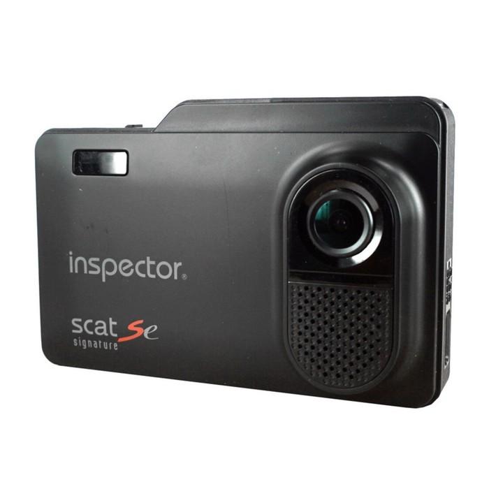 """Видеорегистратор Inspector SCAT SE + радар-детектор, сигнатурный, 3.5"""", 170°, 2304x1296"""