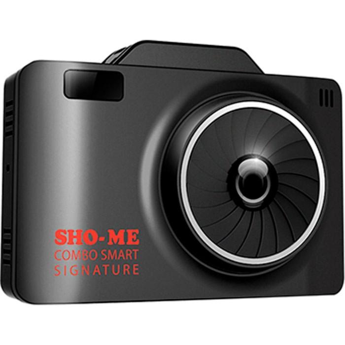 "Видеорегистратор + радар-детектор Sho-Me Combo Smart Signature,  2.31"", обзор 135°, 1920x1080   3015"