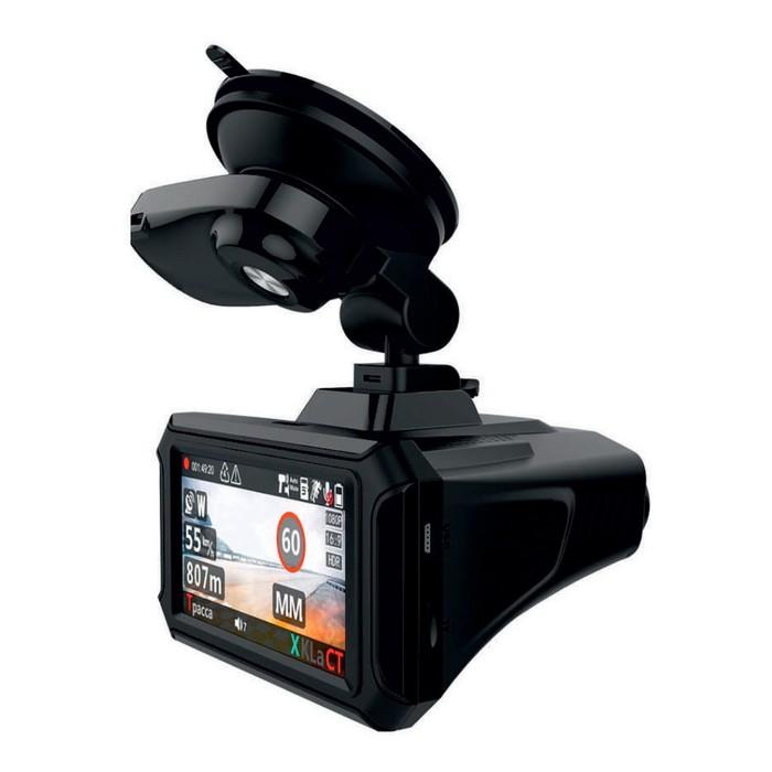 """Видеорегистратор + радар-детектор Blackview Combo 1, 2.7"""", обзор 170°, 2304x1296"""