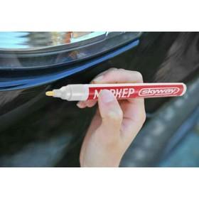 Маркер-карандаш SKYWAY универсальный, с наконечником из фетра, белый