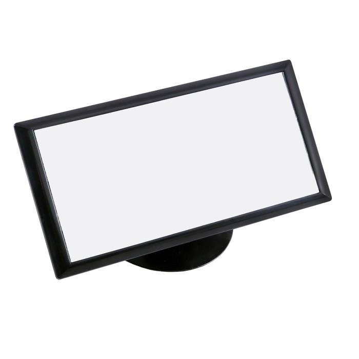 Зеркало внутрисалонное SKYWAY, на присоске, черный