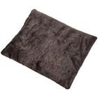 Накидка на сиденье SKYWAY ARCTIC, 33х39 см, искусственный мех, без спинки, серый
