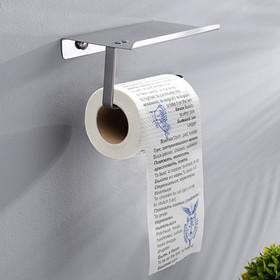"""Туалетная бумага """"Русско-английский разговорник"""""""