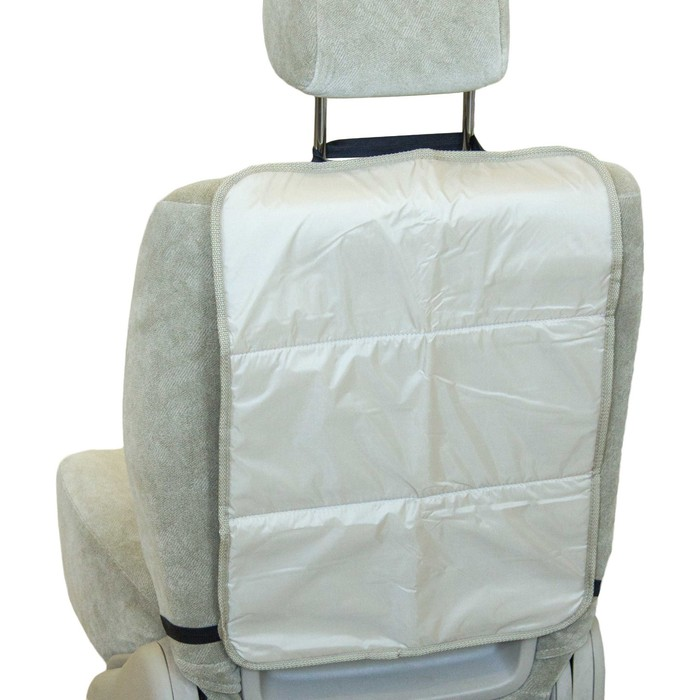 Защитная накидка на сиденье SKYWAY, ПВХ, бежевая