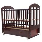 "Кроватка детская ""ДАРИНА""-6 маятн/ящ, 120 х 60 см (вишня)"