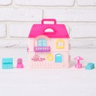 Dolls at home Happy home with accessories, MIX