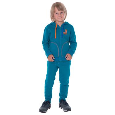 Джемпер для мальчика, рост 104 см, цвет аквамарин