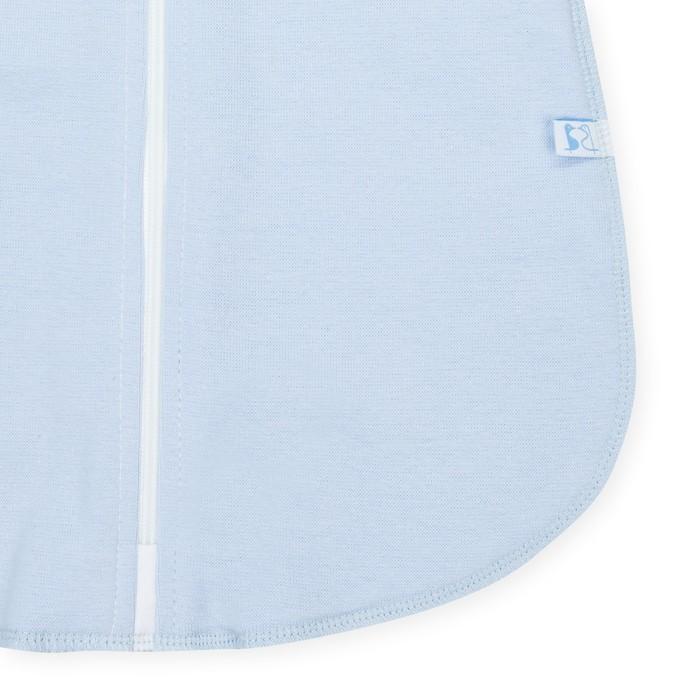 Пелёнка «Кокон», рост 74 см, цвет голубой