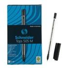 Ручка шариковая Schneider TOPS 505M, узел 0.5 мм, чернила чёрные