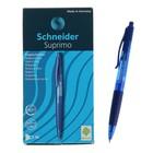 Ручка шариковая автомат Schneider Suprimo, узел 0.5 мм, чернила синие