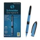 Ручка-роллер Schneider One Hybrid N, узел 0.5 мм, чернила чёрные