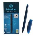 Ручка-роллер Schneider One Business, узел 0.6 мм, чернила синие