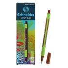 Линер Schneider Line-Up, узел 0.4 мм, красное дерево