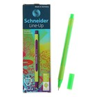 Линер Schneider Line-Up. узел 0.4 мм, неоново-зелёный