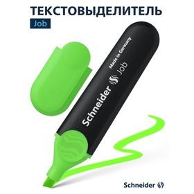 Маркер текстовыделитель 5.0 Schneider Job зелёный
