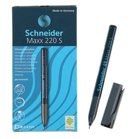 Маркер перманентный 0.4 мм Schneider Maxx 220S, чёрный