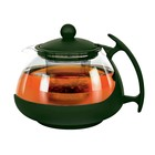 Чайник заварочный 750 мл, цвет зелёный