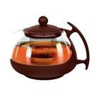 Чайник заварочный 750 мл, цвет коричневый
