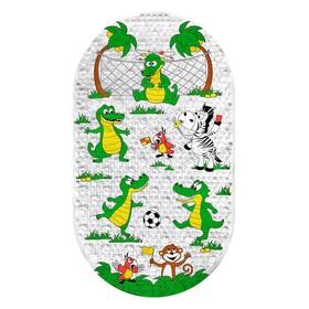 SPA-коврик для ванны «Крокодильчики», 69 х 39 см