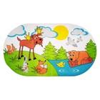 SPA-коврик для ванны «Лесные животные», 69 х 39 см