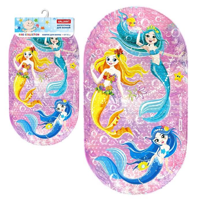 SPA-коврик для ванны «Морские феи», 69 х 39 см