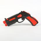 Игровой пистолет AR Gun черно / красный, OAR-003
