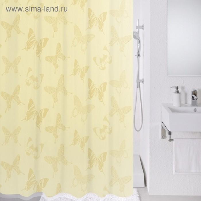 Штора для ванной комнаты 180х200 см, Ivory dream