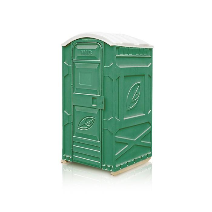 """Туалетная кабина """"EcoLight"""", разобранная, зелёная"""