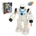 Робот «Космобот», стреляет присосками, световые и звуковые эффекты, работает от батареек, цвета МИКС